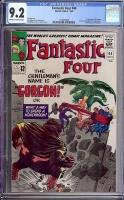 Fantastic Four #44 CGC 9.2 ow/w