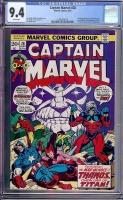 Captain Marvel #28 CGC 9.4 w