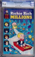 Richie Rich Millions #31 CGC 9.6 cr/ow File Copy