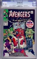 Avengers #54 CGC 9.6 cr/ow