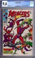 Avengers #55 CGC 9.6 w