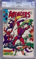 Avengers #55 CGC 9.6 ow/w