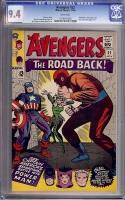 Avengers #22 CGC 9.4 w