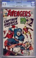 Avengers #4 CGC 8.5 cr/ow