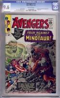 Avengers #17 CGC 9.6 ow