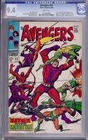 Avengers #55 CGC 9.4 w