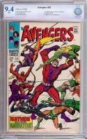 Avengers #55 CBCS 9.4 w