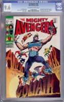 Avengers #63 CGC 9.6 ow/w