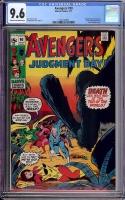 Avengers #90 CGC 9.6 cr/ow