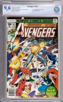 Avengers #162 CBCS 9.6 w