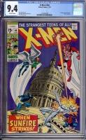 X-Men #64 CGC 9.4 ow