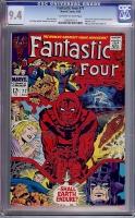 Fantastic Four #77 CGC 9.4 ow/w