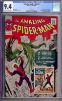 Amazing Spider-Man #2 CGC 9.4 ow/w