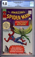 Amazing Spider-Man #7 CGC 9.8 ow/w Twin Cities