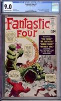 Fantastic Four #1 CGC 9.0 ow/w