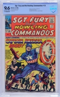 Sgt. Fury and His Howling Commandos #13 CBCS 9.6 ow/w