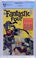 Fantastic Four #2 CBCS 9.2 w