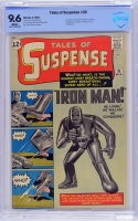 Tales of Suspense #39 CBCS 9.6 w
