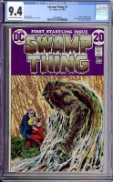 Swamp Thing #1 CGC 9.4 ow/w