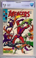 Avengers #55 CBCS 9.6 ow/w