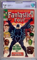 Fantastic Four #46 CBCS 9.4 cr/ow