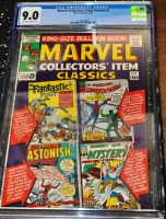 Marvel Collectors' Item Classics #1 CGC 9.0 ow/w