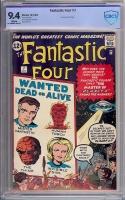 Fantastic Four #7 CBCS 9.4 w