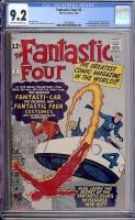 Fantastic Four #3 CGC 9.2 ow/w