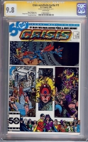 Crisis on Infinite Earths #11 CGC 9.8 w CGC Signature SERIES