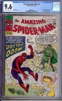Amazing Spider-Man #5 CGC 9.6 ow/w Stewart DeSoto Collection