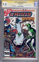 Crisis on Infinite Earths #10 CGC 9.8 w CGC Signature SERIES