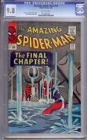 Amazing Spider-Man #33 CGC 9.8 ow Stewart DeSoto Collection