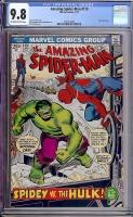 Amazing Spider-Man #119 CGC 9.8 ow/w
