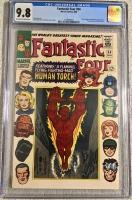 Fantastic Four #54 CGC 9.8 ow/w