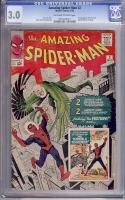 Amazing Spider-Man #2 CGC 3.0 ow/w