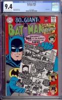 Batman #198 CGC 9.4 ow/w