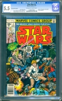 Star Wars #2 CGC 5.5 ow/w 35 Cent Price Variant