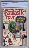 Fantastic Four #5 CBCS 9.6 w