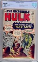 Incredible Hulk #2 CBCS 9.2 w