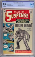 Tales of Suspense #39 CBCS 9.4 w