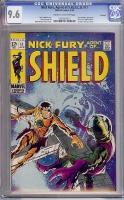 Nick Fury, Agent of SHIELD #11 CGC 9.6 cr/ow Savannah