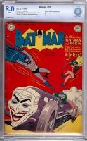 Batman #52 CBCS 8.0 w