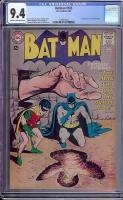 Batman #165 CGC 9.4 cr/ow
