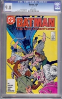 Batman #409 CGC 9.8 w