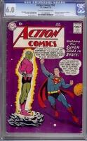 Action Comics #242 CGC 6.0 cr/ow