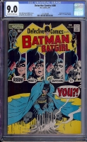 Detective Comics #408 CGC 9.0 ow/w