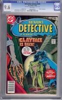 Detective Comics #478 CGC 9.6 w
