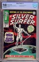 Silver Surfer #1 CBCS 9.8 ow/w