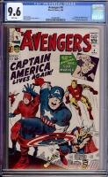 Avengers #4 CGC 9.6 w