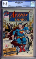 Action Comics #396 CGC 9.6 ow/w